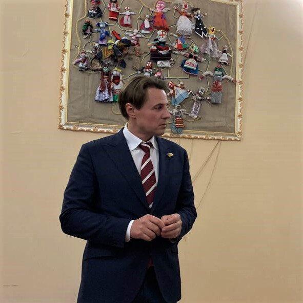 В Олександрії побував Олег Воронько