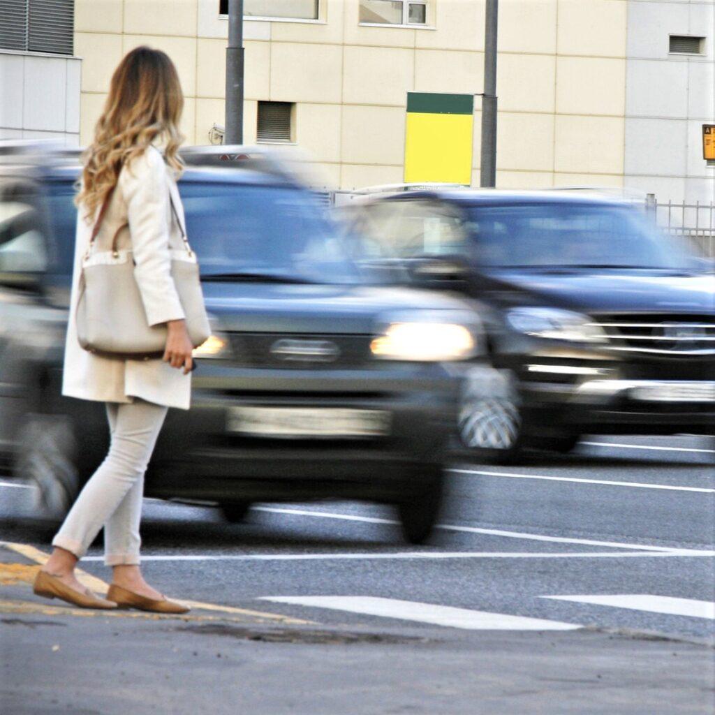 З вини пiшоходiв сталося 10 автопригод